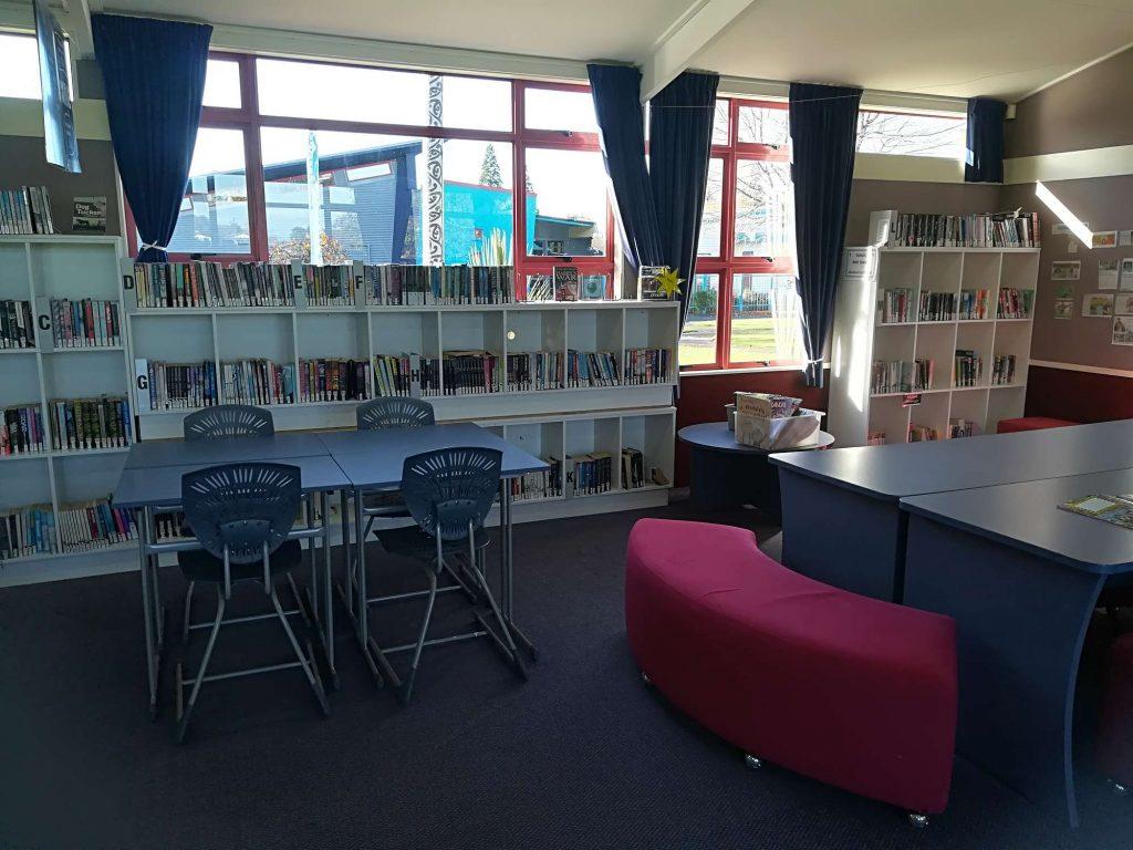 Library – Whare pukapuka, Bohally Intermediate School